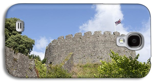 The Keep At Trematon Castle In Cornwall England With The Unin Fl Galaxy S4 Case by Paul Felix