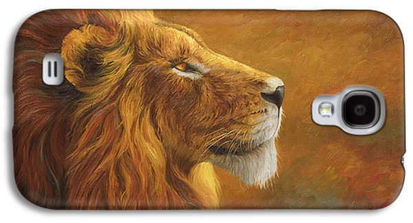 The King Galaxy S4 Case by Lucie Bilodeau