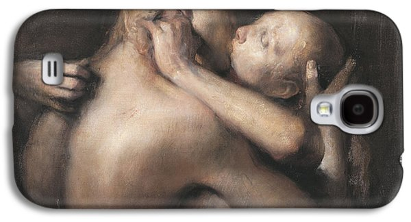 The Kiss Galaxy S4 Case by Odd Nerdrum