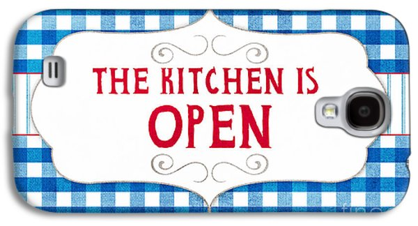 The Kitchen Is Open Galaxy S4 Case by Linda Woods