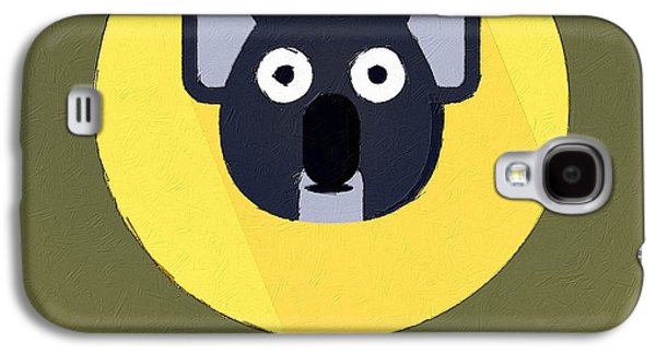 The Koala Cute Portrait Galaxy S4 Case by Florian Rodarte