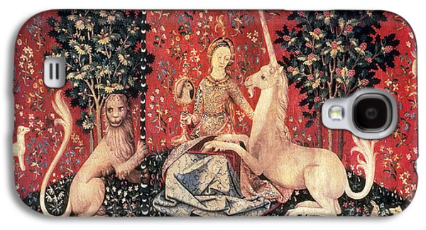 The Lady And The Unicorn, 15th Century Galaxy S4 Case by Photo Researchers