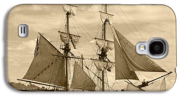 The Lady Washington Ship Galaxy S4 Case by Kym Backland