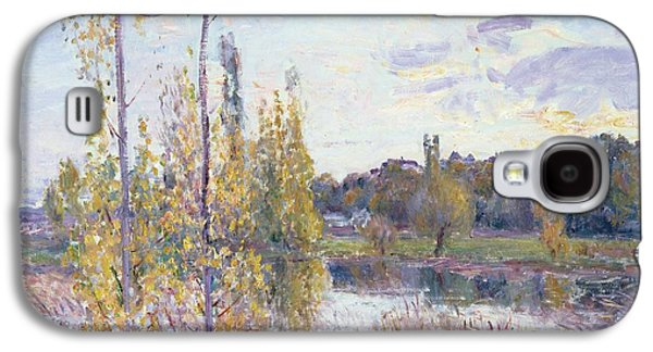 The Lake At Chevreuil Galaxy S4 Case by Alfred Sisley