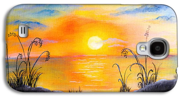 The Land Of The Dying Sun Galaxy S4 Case by Nirdesha Munasinghe