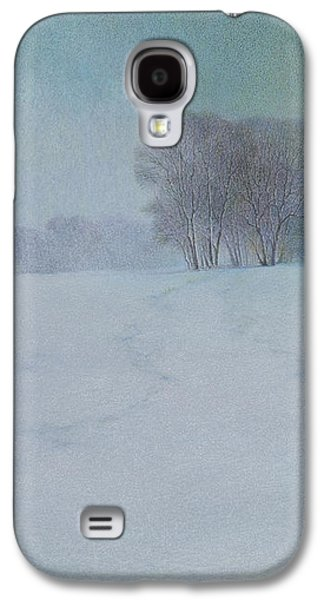 The Last Snow Galaxy S4 Case by Lynn Bywaters
