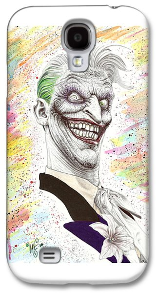 The Laughing Man Galaxy S4 Case by Wave