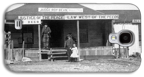 The Law West Of The Pecos Galaxy S4 Case by Underwood Archives
