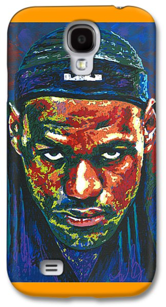 The Lebron Death Stare Galaxy S4 Case