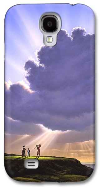 The Legend Of Bagger Vance Galaxy S4 Case by Jerry LoFaro