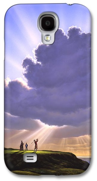 Sports Galaxy S4 Case - The Legend Of Bagger Vance by Jerry LoFaro