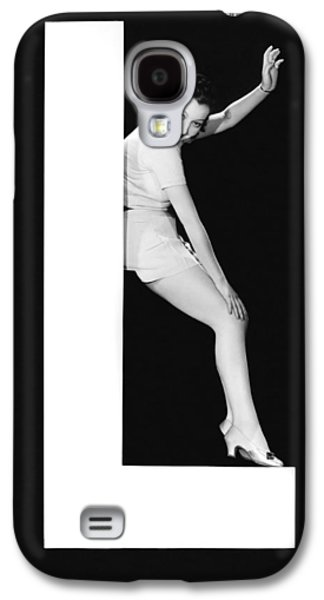 The Letter L And A Woman Galaxy S4 Case by Underwood Archives