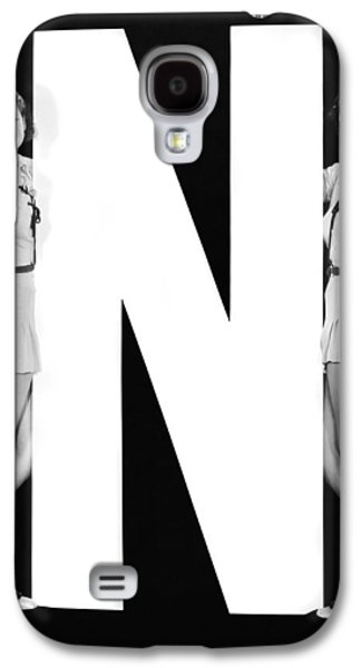 The Letter n  And Two Women Galaxy S4 Case by Underwood Archives