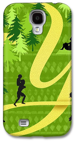The Letter Y Galaxy S4 Case by Valerie Drake Lesiak