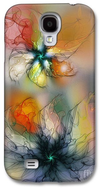 The Lightness Of Being-abstract Art Galaxy S4 Case