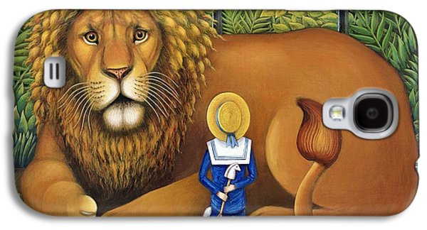 The Lion And Albert, 2001 Galaxy S4 Case by Frances Broomfield