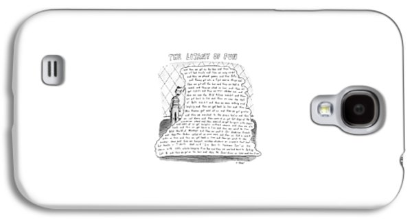 The Litany Of Fun ...and Then We Got On The Bus Galaxy S4 Case by Roz Chast