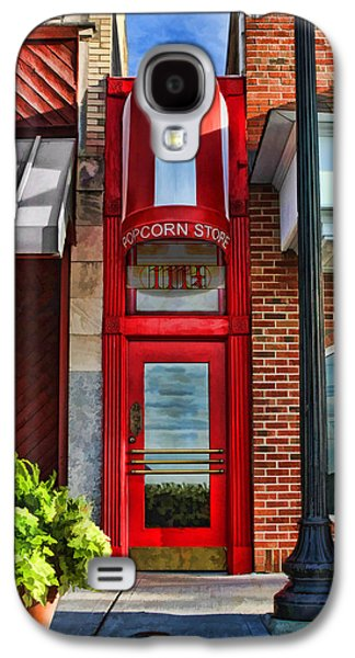 The Little Popcorn Shop In Wheaton Galaxy S4 Case by Christopher Arndt