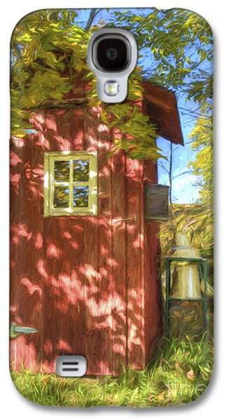 The Little Red House Galaxy S4 Case by Veikko Suikkanen