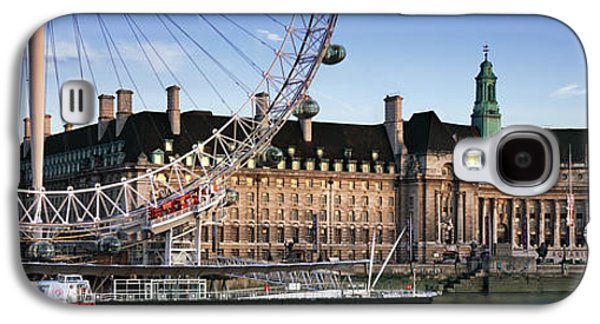 The London Eye And County Hall Galaxy S4 Case by Rod McLean