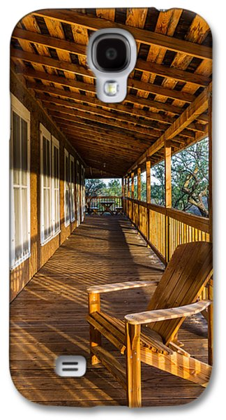 The Long Porch Galaxy S4 Case by Beverly Parks