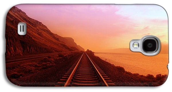 The Long Walk To No Where  Galaxy S4 Case by Jeff Swan