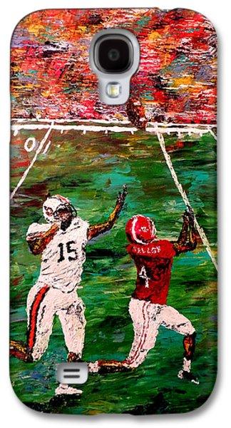 The Longest Yard - Alabama Vs Auburn Football Galaxy S4 Case by Mark Moore