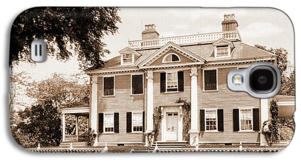 The Longfellow House, Cambridge, Longfellow, Henry Galaxy S4 Case by Litz Collection