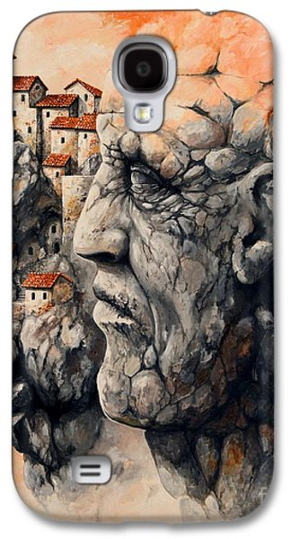 The Lost City - The Sentinel Galaxy S4 Case by Emerico Imre Toth