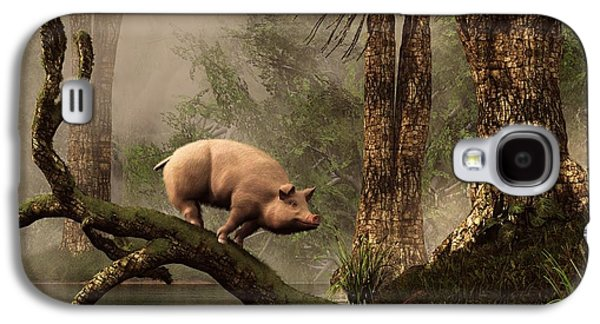The Lost Pig Galaxy S4 Case