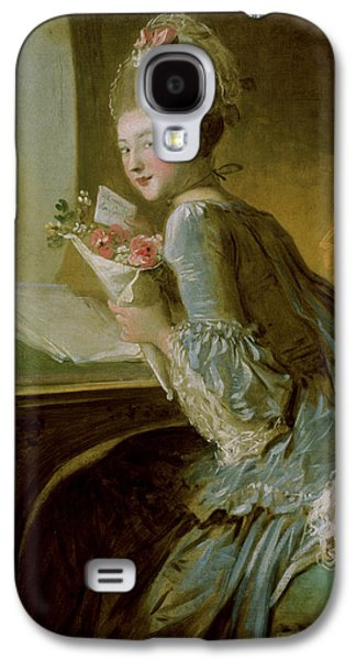 The Love Letter Galaxy S4 Case by Jean Honore Fragonard