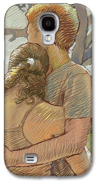 The Lovers Galaxy S4 Case by Dominique Amendola