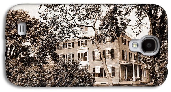 The Lowell House, Cambridge, Lowell, James Russell Galaxy S4 Case by Litz Collection
