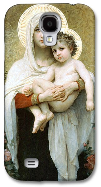 The Madonna Of The Roses Galaxy S4 Case by William Bouguereau