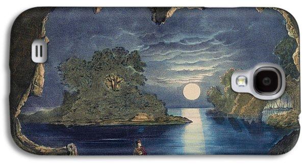 The Magic Lake Circa 1856  Galaxy S4 Case by Aged Pixel