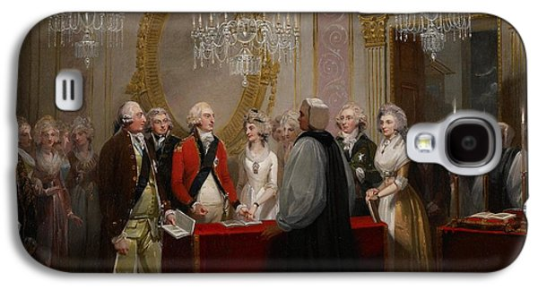 The Marriage Of The Duke And Duchess Of York Galaxy S4 Case by Henry Singleton