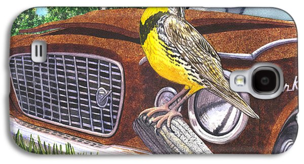 The Meadowlarks Galaxy S4 Case by Catherine G McElroy