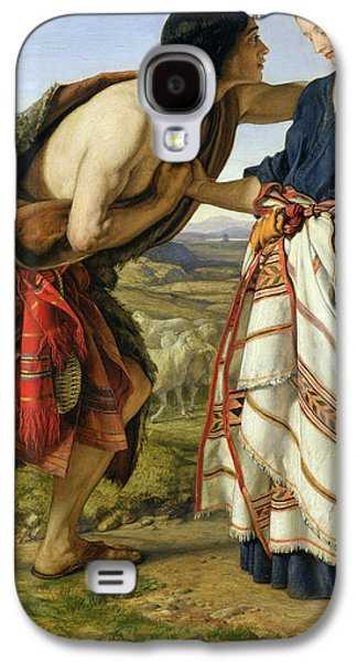 The Meeting Of Jacob And Rachel Galaxy S4 Case by William Dyce