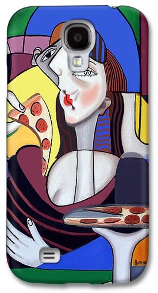 The Mona Pizza Galaxy S4 Case