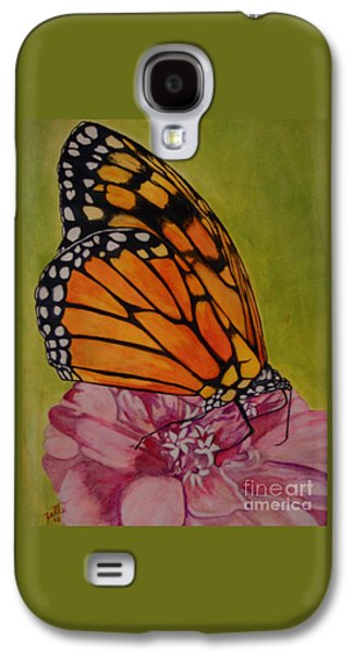 The Monarch Galaxy S4 Case by Suzette Kallen