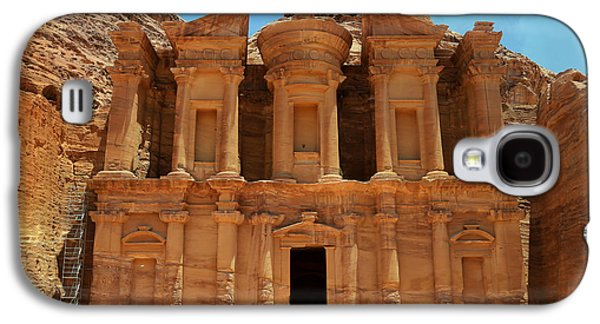 The Monastery At Petra Galaxy S4 Case