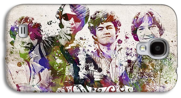 The Monkees Galaxy S4 Case by Aged Pixel