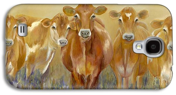 Cow Galaxy S4 Case - The Morning Moo by Catherine Davis