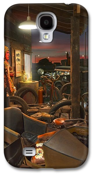 The Motorcycle Shop 2 Galaxy S4 Case by Mike McGlothlen