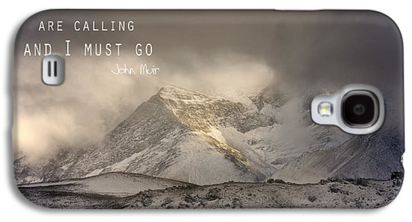 The Mountains Are Calling And I Must Go  John Muir Vintage Galaxy S4 Case