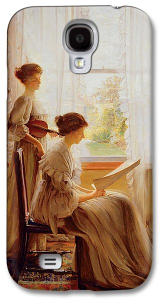The Music Lesson, C.1890 Galaxy S4 Case by American School