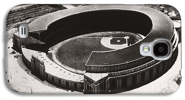 The New Cleveland Stadium Galaxy S4 Case by Underwood Archives