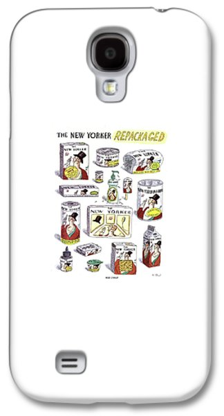 The New Yorker Repackaged Galaxy S4 Case by Roz Chast