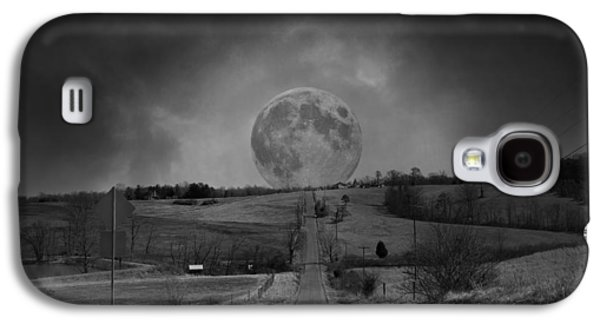 The Night Begins Galaxy S4 Case by Betsy Knapp