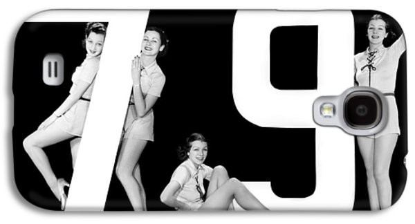 The Number 79 And Four Women Galaxy S4 Case